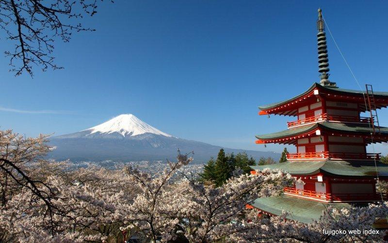 Arakura Sengen Shrine - Chureito Pagoda : Top Shrines in Japan | All ...