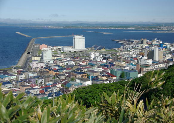 Wakkanai Japan  city photos : Wakkanai, the northernmost city in Japan, is a port city sandwiched ...