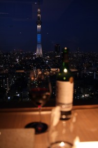 View of the Skytree