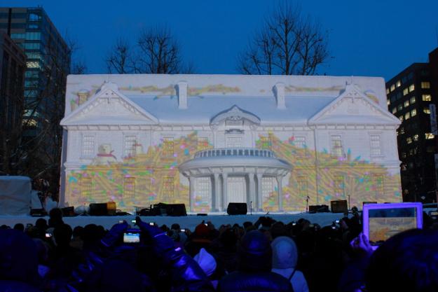Snow Festival in Sapporo