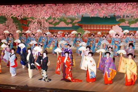 photo of Miyako Odori in Kyoto